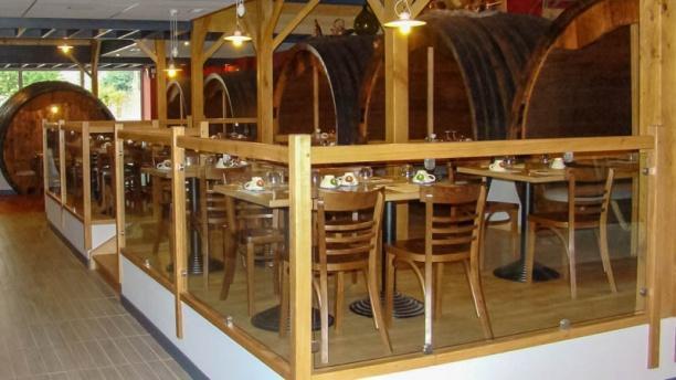 Au Trou Normand Ambiance cave à vin
