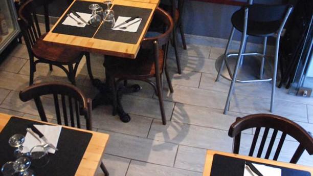 La Candela vue détail tables