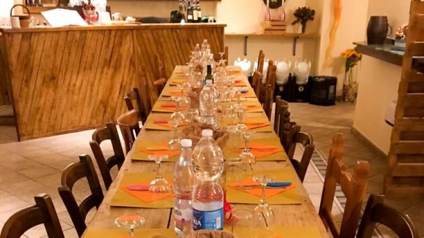 La Locanda di Berto e Giangio Salone ristorante