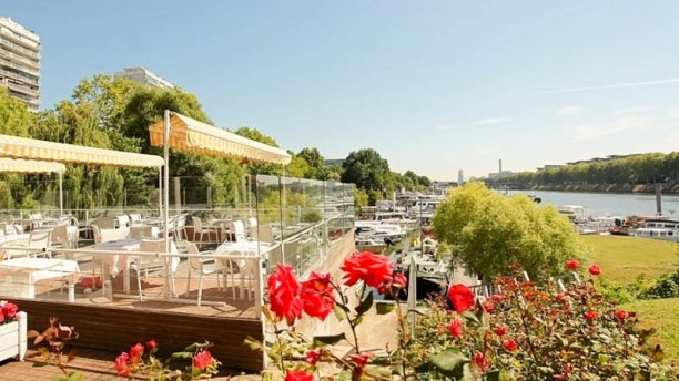 Restaurant le van gogh asni res sur seine 92600 avis - Restaurant seine port ...
