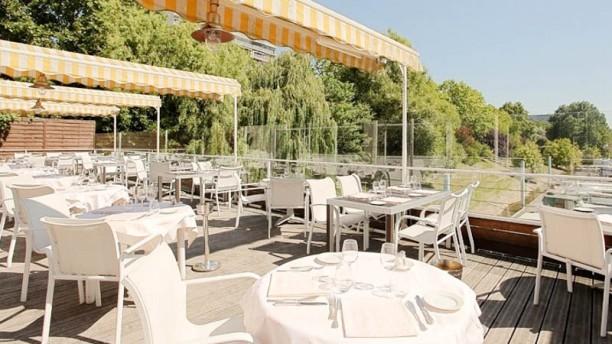 Le van gogh restaurant port van gogh 92600 asni res sur - Restaurant seine port ...