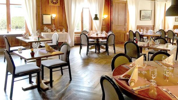 Hôtel Restaurant de l'Aigle Vue de la salle