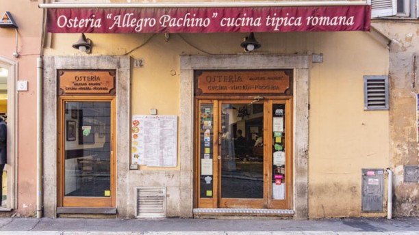 Osteria Allegro Pachino Entrata