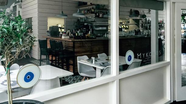 Mykonos Het restaurant