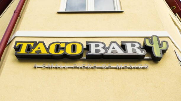 Taco Bar Nyköping Restaurangens front
