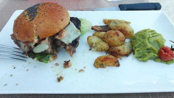 Logis Hôtel Le Cours burger