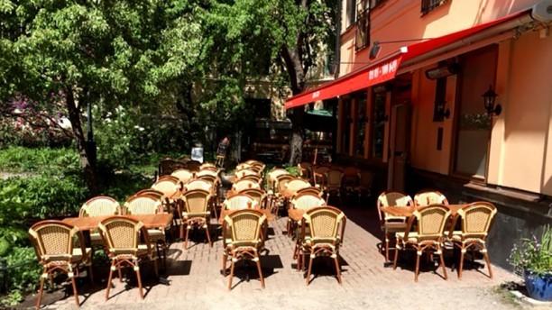 Hubertus Restaurang Hubertus Centralbadsparken sommartid