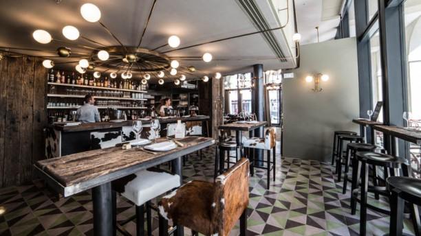 l'Étable Saint-Germain Salon du restaurant