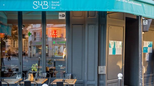 Skb Social Kitchen Bar In Paris Restaurant Reviews Menu