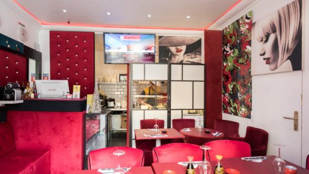 Mega Sushi Salle du restaurant