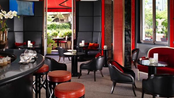 Le Bar - Le Richemond Vue de la salle