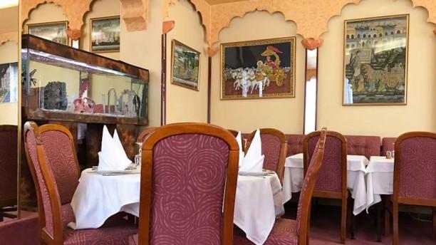 Les Délices de Bombay Vue de la salle