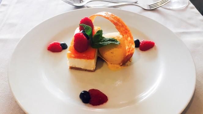 Cheesecake de Requeijão com Geleia de Abóbora - Czar Lisbon, Lisboa