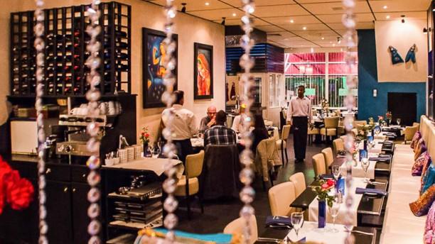 Memories of India restaurantzaal