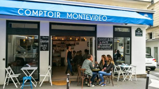 Comptoir Montevideo La terrasse