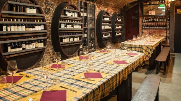 L'Ostu Sala del ristorante