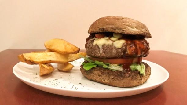 Siman Cafe e Gastronomia Hamburguer da casa - 200 gramas