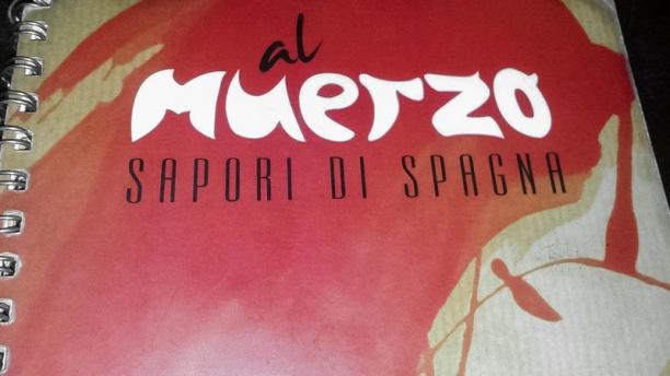 Al Muerzo menu'