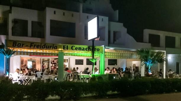 El Cenachero - Vera Vista terraza