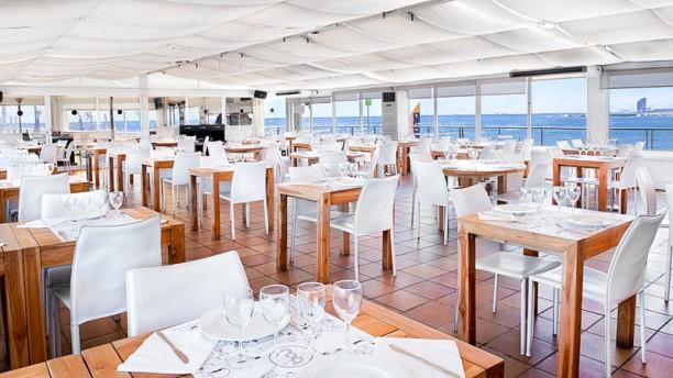 BOO Restaurant & Beach Club Vista sala
