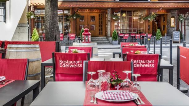 Edelweiss Terrasse du Restaurant Edelweiss