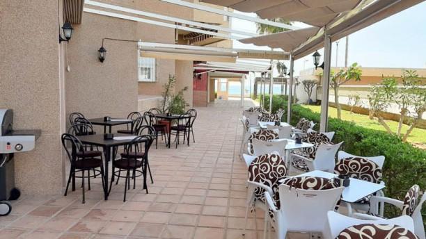 Rincón de la Maroma terraza