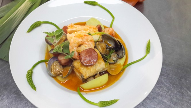 Bacalhau Maravilhoso - Au Cor de Chasse,
