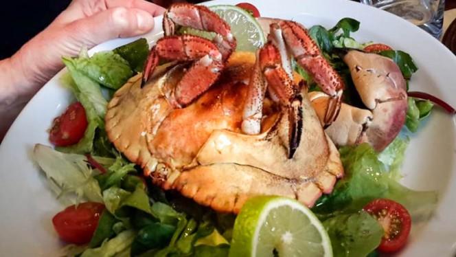 Crabe gratiné - Au Cor de Chasse,