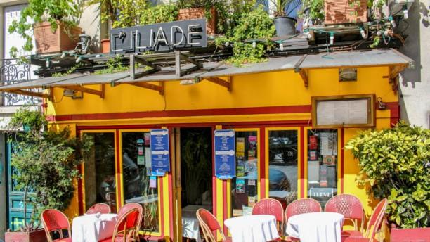 L'Iliade Façade