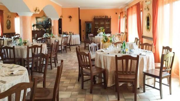 Villa Pegaso Vista della sala