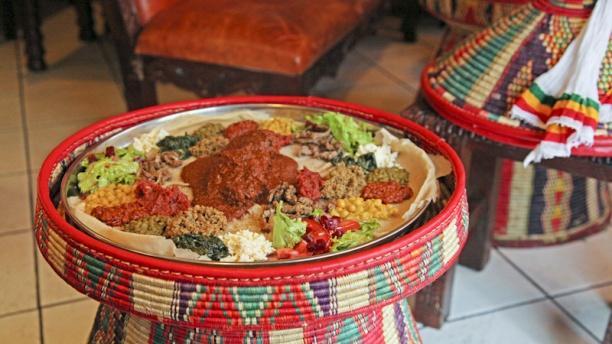 Restaurant Ethiopien Jo Paris Ortiments De Spécialités
