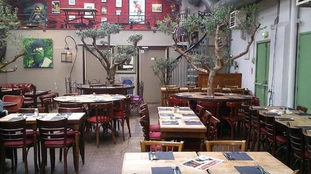 La Halle aux Oliviers de La Bellevilloise Restaurant