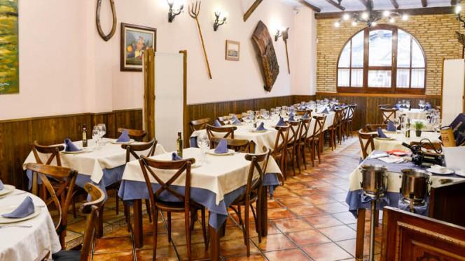 Vista de la sala - Taperío El Cerdó, Zaragoza