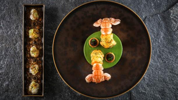 Le 1920 Langoustines de Casier croustillantes et marinées, cresson et caviar Kristal