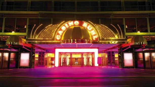 Cabaret du Casino Barriere Le Ruhl Nice Vue de la façade