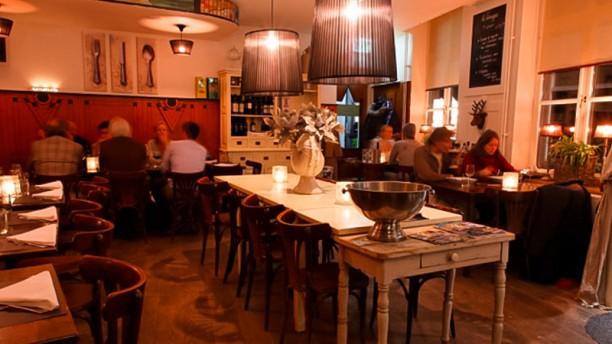 Le Virage Restaurantzaal