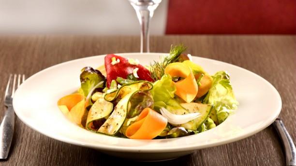 l'Endroit Villefranche Salade maraichère de printemps