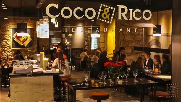 Coco et Rico Salle du restaurant
