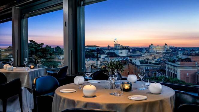 Vista sala - La Terrazza, Rome