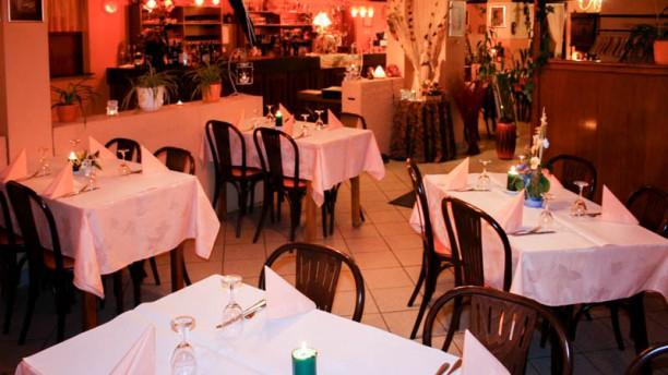 Restaurant à l'Homme Sauvage Salon du restaurant