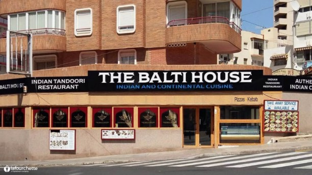 The Balti House Restaurant Entrada