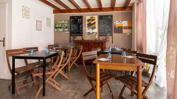 Au Loft Bar-Restaurant Bio Vue de la salle