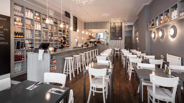 De Pizzabakkers Haarlem Het restaurant