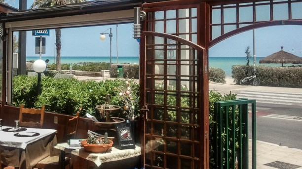 La Brasserie sul mare terrazza vista mare