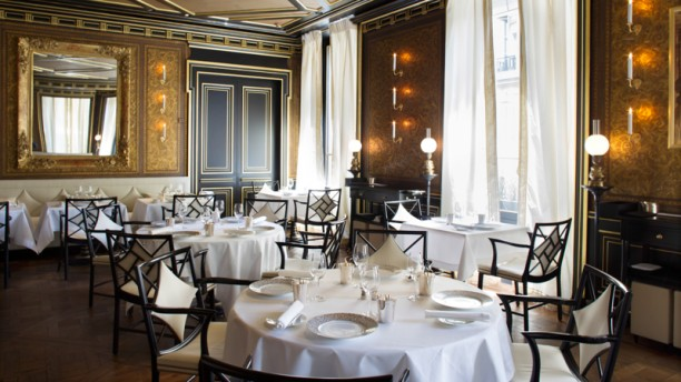 Le gabriel la r serve paris in paris restaurant for Le miroir resto paris
