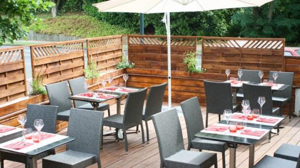 La Table de Cassan terrasse