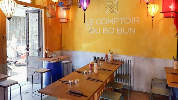 le comptoir du bo bun in paris restaurant reviews menu and prices thefork. Black Bedroom Furniture Sets. Home Design Ideas