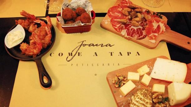 Joana Come a Tapa Sugestão do chef