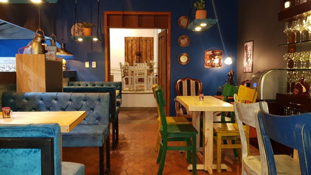 Restaurante La Pampeana Vista sala