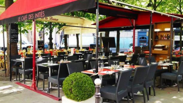 Le Café des Initiés terrasse